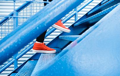 lekker blijven wonen door vaker trap te lopen