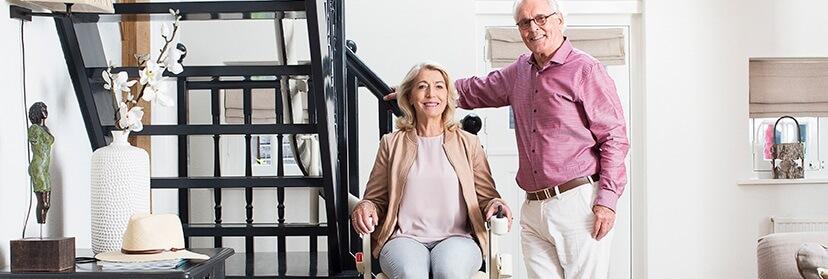 Lekker blijven wonen met een traplift - Lekker Blijven Wonen